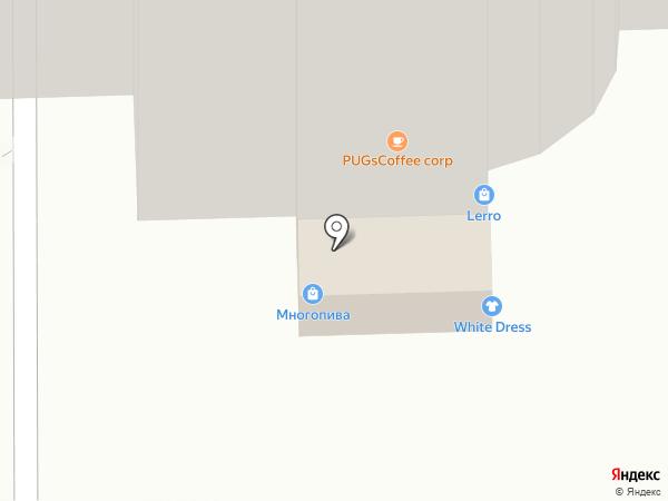 Пивоварня Лобанова на карте Томска