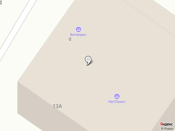 ТК Стройгаз на карте Томска