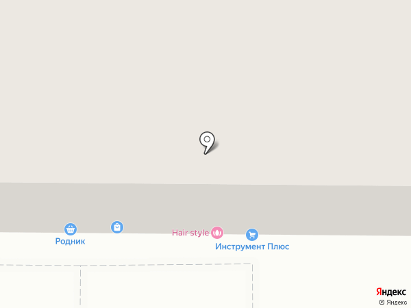 Томский Цирюльник на карте Томска