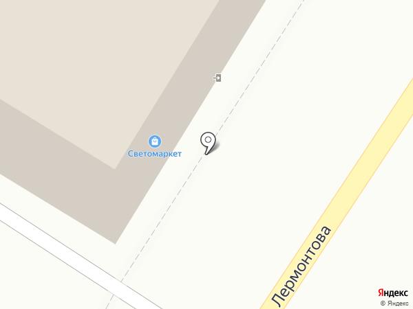 Русь на карте Томска