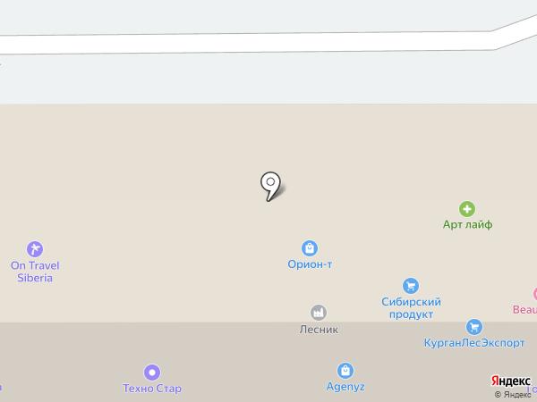 Картаинфо на карте Томска