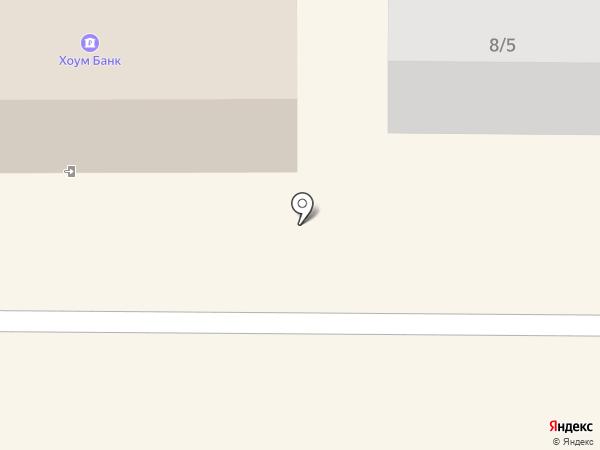 Нахимовская на карте Томска