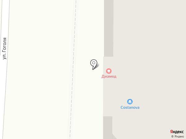Медынь на карте Томска