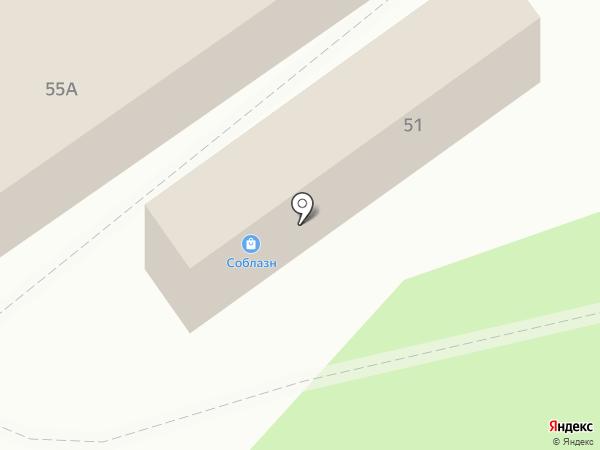 Ларец на карте Белокурихи