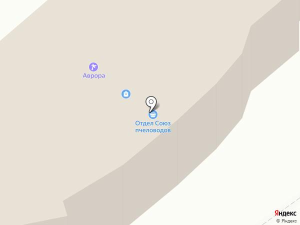 Аврора на карте Белокурихи