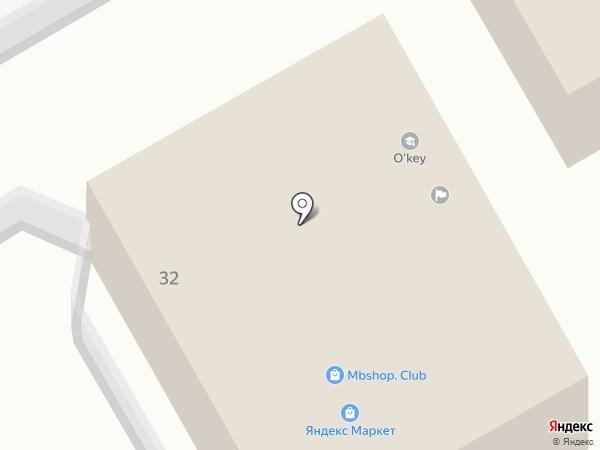 Простор-СМ на карте Томска