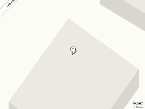 АВТОСНАБ на карте Томска