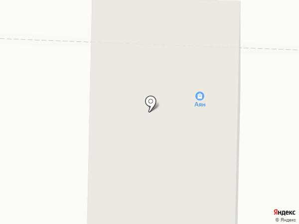 Хмельной на карте Томска