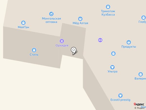 Камея на карте Белокурихи