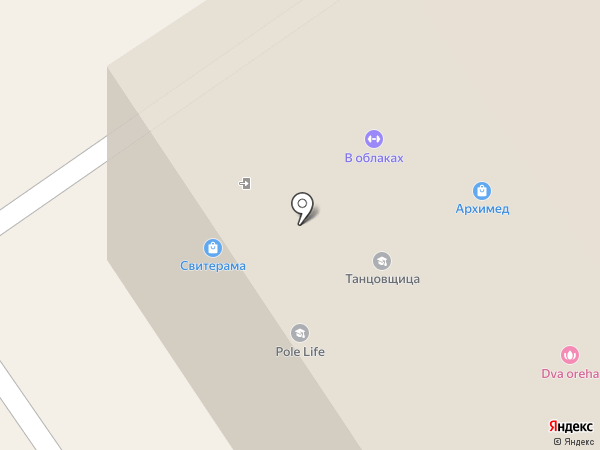 STUDIO FLAT 101 на карте Томска