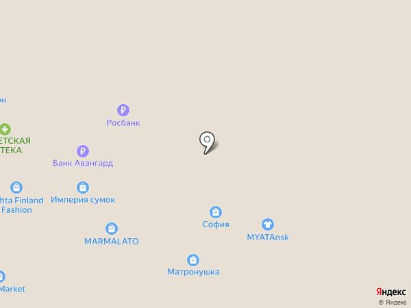 Yogumi на карте Томска