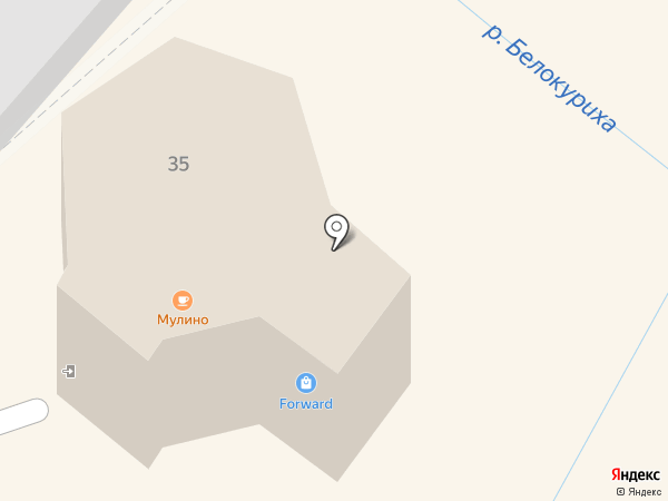Mulino на карте Белокурихи