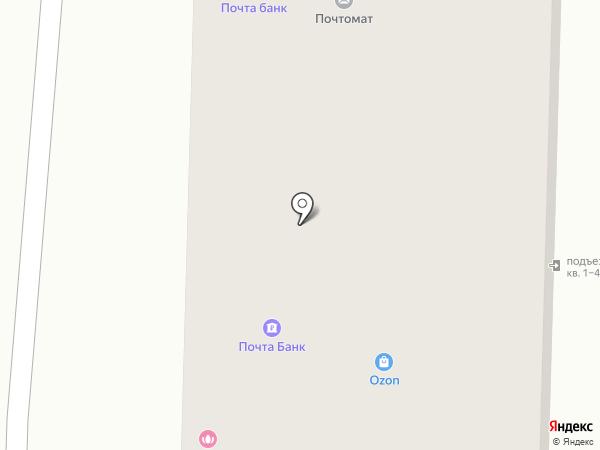 Шанталь на карте Томска