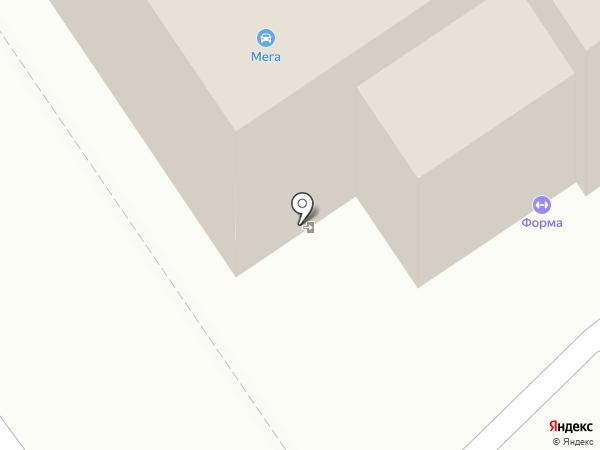 Региональный центр тахографии на карте Томска