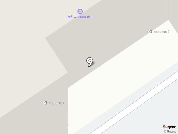 Зорька на карте Томска