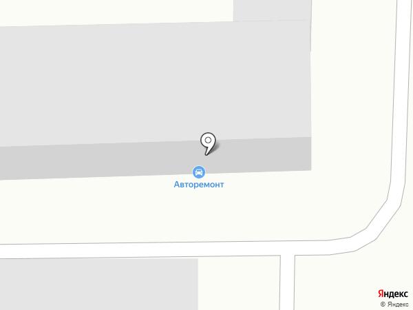 Автокомплекс на карте Томска