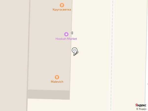 Moto Bar M53 на карте Томска
