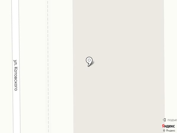 Корзинка на карте Томска