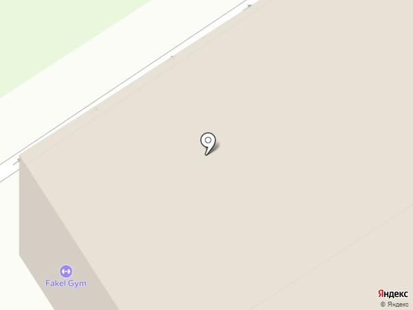 Звезда спорта на карте Томска