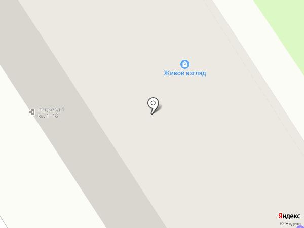 Живой взгляд на карте Томска
