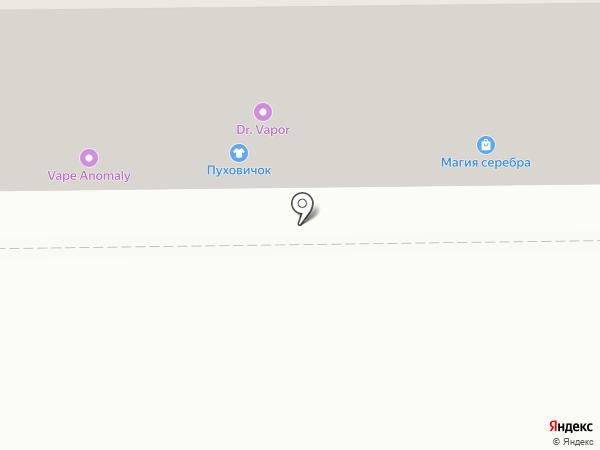Авантаж-Бизнес на карте Томска