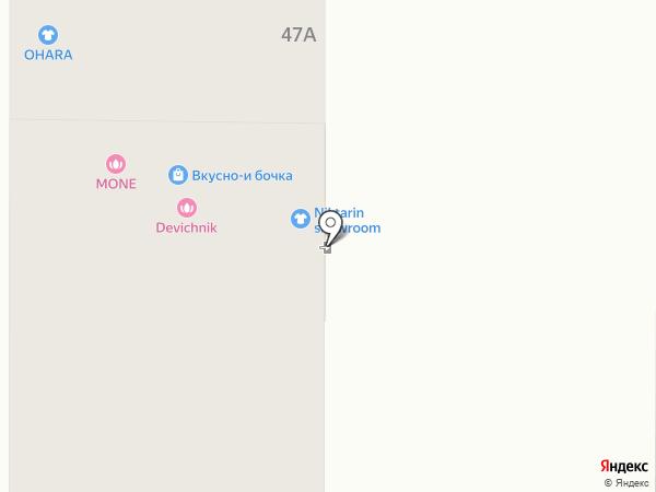 Гранд на карте Томска