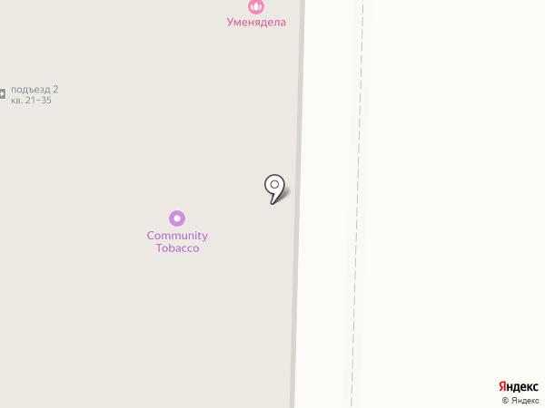 Одеть Доктора на карте Томска