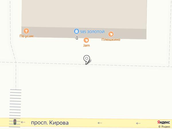 585 на карте Томска