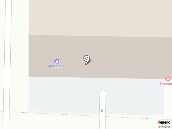 МегаФон на карте Томска
