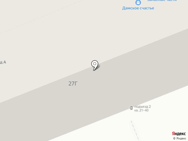 Енот-сервис на карте Томска