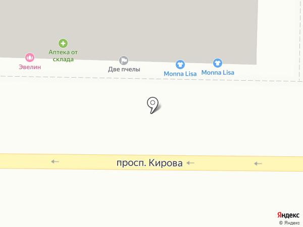 Глазурь на карте Томска