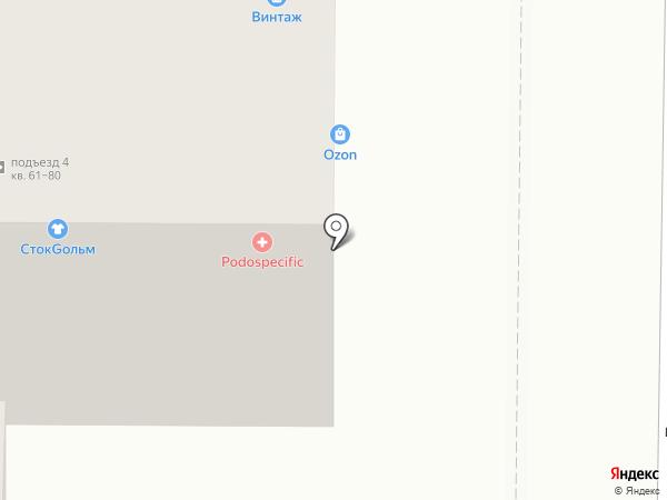 Главпивторг. Бочковое на карте Томска