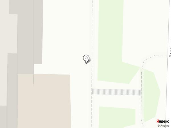Зоомир на карте Томска