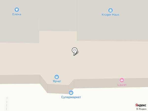 Качели на карте Томска
