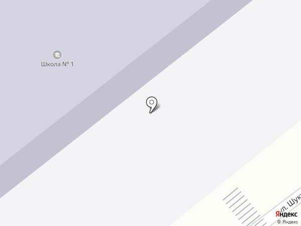 Средняя общеобразовательная школа №1 на карте Белокурихи