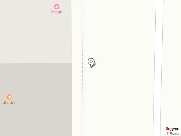 Черника на карте Томска