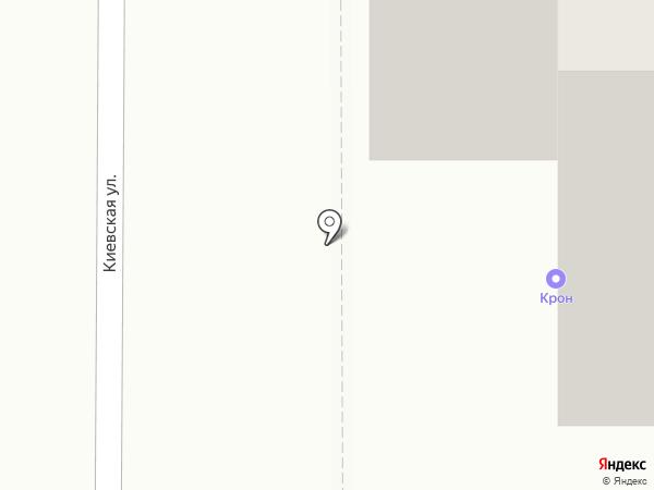 Сдобный мир на карте Томска