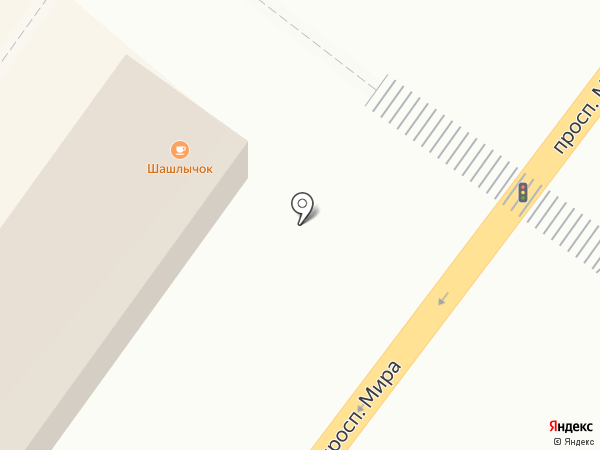 Шашлычок на карте Томска