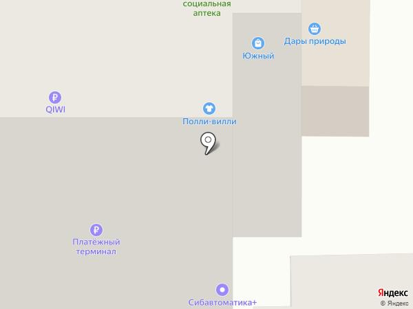 Мясная лавка на карте Томска