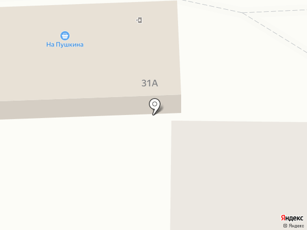 На Пушкина на карте Томска