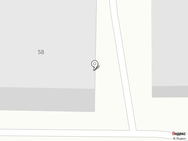 Авто-блеск на карте Томска