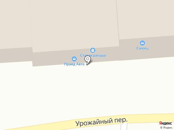 Автомастерская на карте Томска