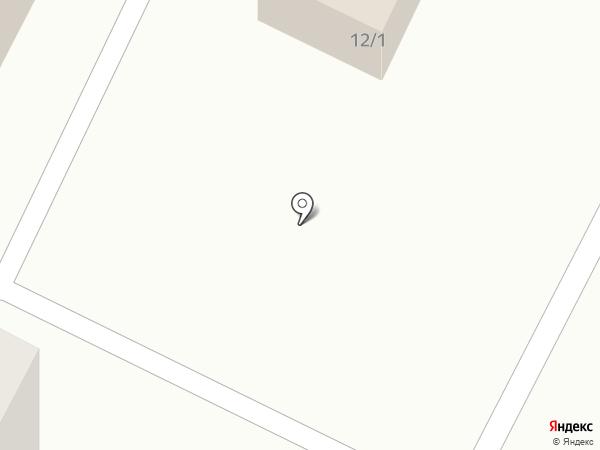 Киоск по продаже мясной продукции на карте Томска