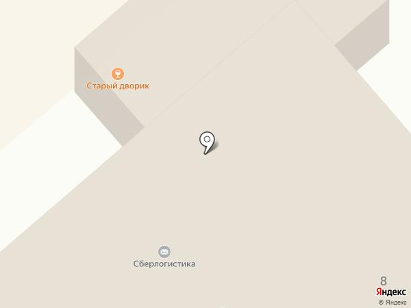Штопор на карте Белокурихи