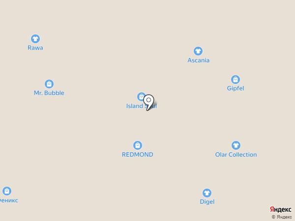 Yota на карте Томска