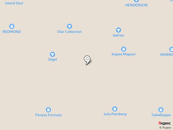 ДМ Текстиль на карте Томска