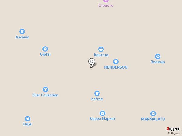 Tropiсana на карте Томска