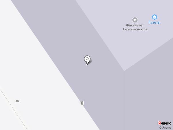 Томский государственный университет систем управления и радиоэлектроники на карте Томска