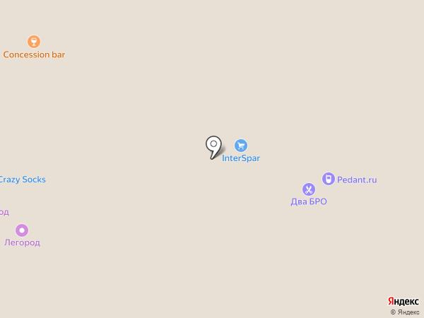 Just на карте Томска