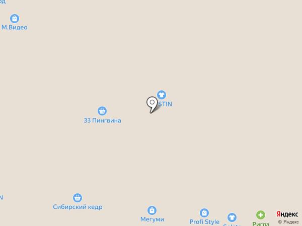 Ежевика на карте Томска